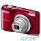 """VNA982E1 Nikon CoolPix A10 красный {16Mp 5x 2.7"""" 720p SDXC /AA}"""