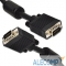 CC-PPVGA-10M-B Gembird/Cablexpert CC-PPVGA-10M-B, Кабель VGA Premium , 15M/15M, 10м, черный, тройной экран, феррит.кольца