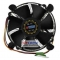 DC-156V925X/R Socket 1156/1155/1150/1151, Titan DC-156V925X/R, FAN 95mm, 2200rpm, 27db, 3-Pin