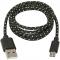 USB08-03T Кабель USB 2.0 (AM) -> Micro USB (BM), 1.0m, Defender USB08-03T (87474)