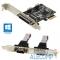 ORIENT XWT-PE2S1PV2 OEM PCI-E 2xRS232, 1xIEEE1284
