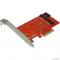 PCIe2NGFF Espada Контроллер PCI-E x4, 2 порта M.2 NGFF (B+M key) (PCIe2NGFF) (42043)