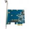 A1061S-MS Orient A1061S-MS, PCI-E v2.0, SATA 6 GB/s, 2int port: mSATA+SATA, поддержка HDD до 6Tb, , ASM1061 chipset, OEM