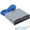 GR-152UB USB 2.0 Card reader SDXC/SD/SDHC/MMC/MS/microSD/xD/CF + 2 порта USB 3.0 (черный) GR-152UB