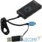 MI-363 USB 2.0 Card Reader OTG SD/microSD (MI-363) + USB 2.0 HUB 3 Ports