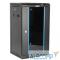 TDC-6U-GR-RAL9004 Hyperline TDC-6U-GR-RAL9004 Шкаф настенный 10'',6U,350х370х300,уст. размер 254 мм,со стеклянной дверью,открывающиеся стенки,возможность установки вент