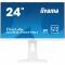"""XUB2492HSU-W1 Монитор iiYama ProLite XUB2492HSU-W1 23.8"""", 1920x1080 (IPS), 5ms, D-SUB + HDMI + DP, HAS + PIVOT, USB 2.0, Spks, White"""