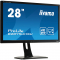 "B2875UHSU-B1 Монитор iiYama ProLite B2875UHSU-B1 27"", 3840x2160, 1ms, D-SUB + DVI-D + HDMI + DP, USB 2.0, Spks, Black"