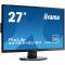 "X2783HSU-B3 Монитор iiYama ProLite X2783HSU-B3 27"", 1920x1080 (AMVA+ LED), 5ms, D-SUB + DVI-D + HDMI, Spks, Black"