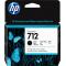 3ED71A 3ED71A Cartridge HP 712 для DJ T230/T630/T650/Studio, черный, 80 мл